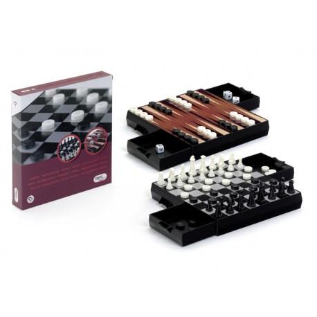Ajedrez- Damas- Backgammon
