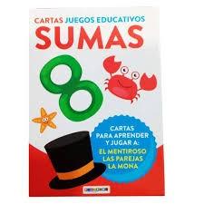 Edicards. Cartas Juegos educativos sumas