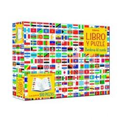 Libro y Puzzle. Atlas mundial
