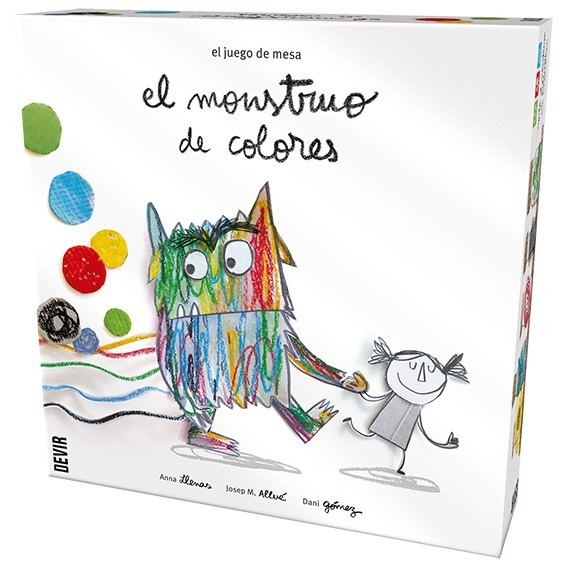 El monstruo de colores