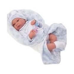 Muñeco Recien nacido saco lana