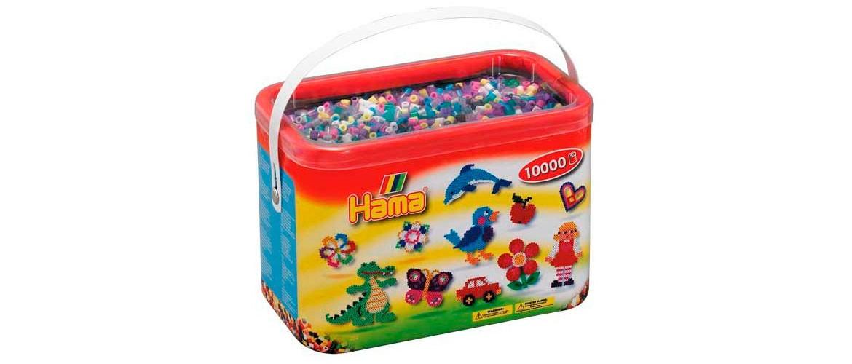 Hama Beads Midi Cubo 10000 piezas